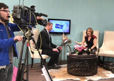 IndyStyle segment on Valentine's Day with tips for single Dog Lovers!